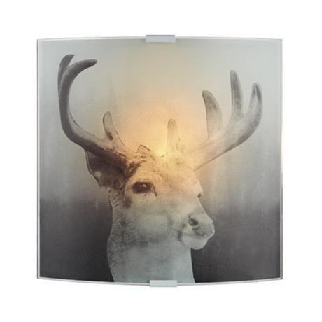 Deer Grå Vegglampe Markslöjd