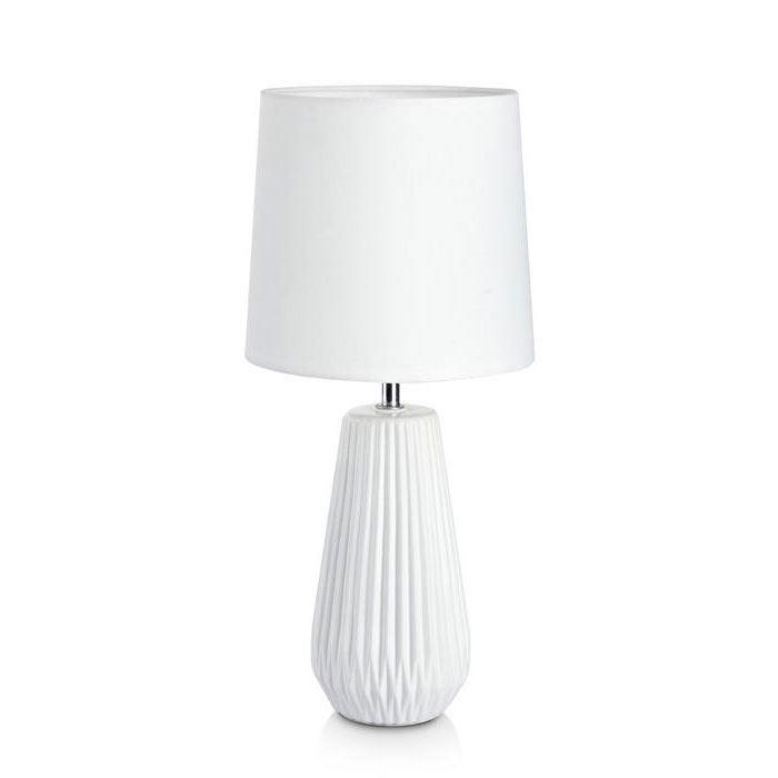 Nicci Hvit Bordlampe Markslöjd