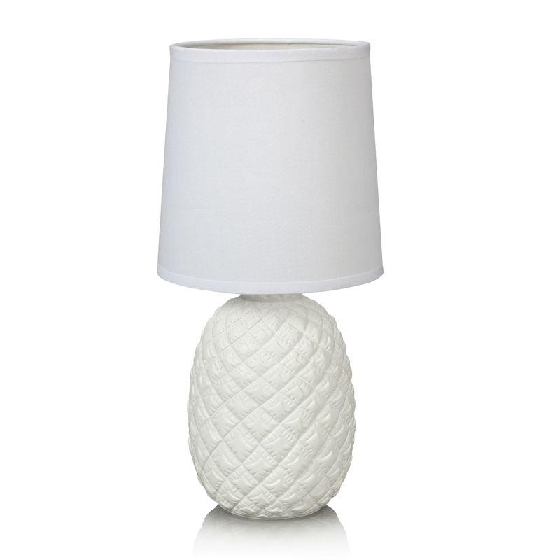 Pineapple Hvit Bordlampe Markslöjd