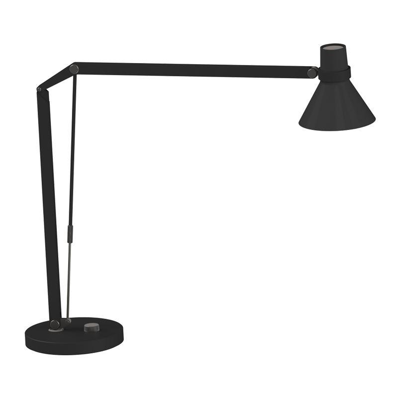 Safir Svart LED/Dimmer Leselampe Nordlux