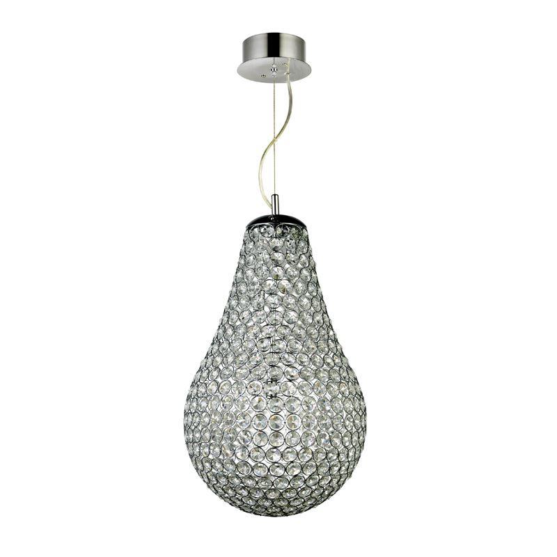 Droppen Krystall Taklampe 35cm Oriva
