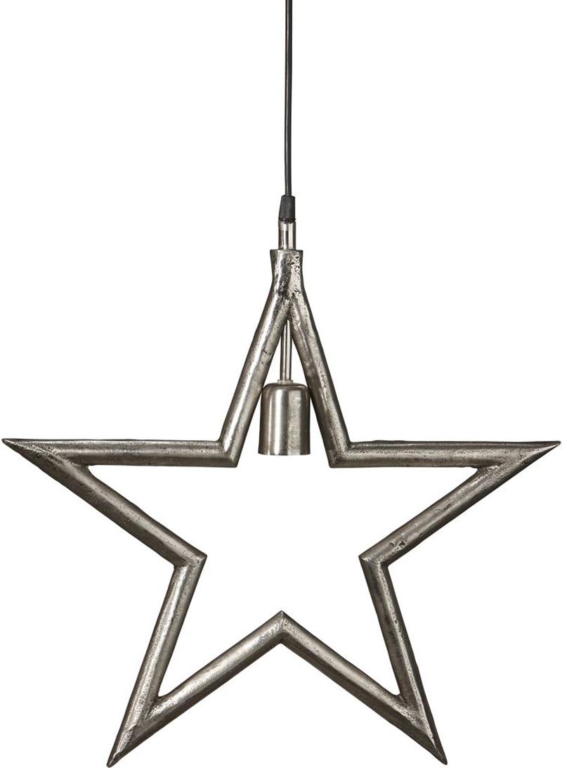 Raw Star Rå Sølv 60cm Julestjerne Pr Home