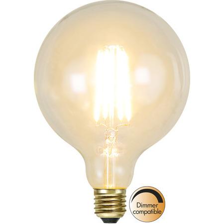 Glob 125 E27 3,6W Soft Glow Dimbar Led-Lyskilde Star Trading