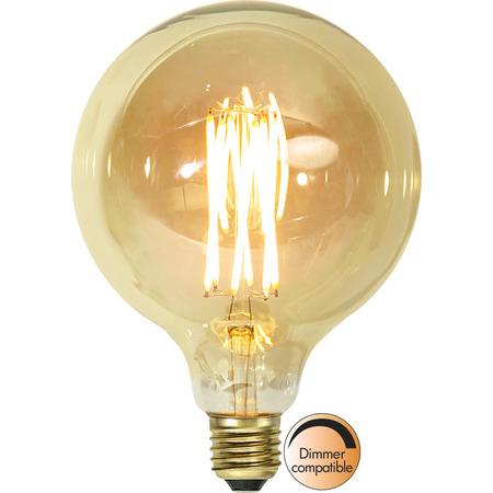 Glob 125 E27 3,7W Vintage Gold Dimbar Led-Lyskilde Star Trading
