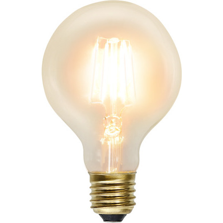 Glob 80 E27 2,3W Soft Glow Led-Lyskilde Star Trading
