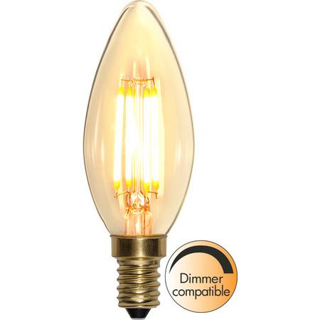 Kron E14 4 W Soft Glow Dimbar Led-Lyskilde Star Trading