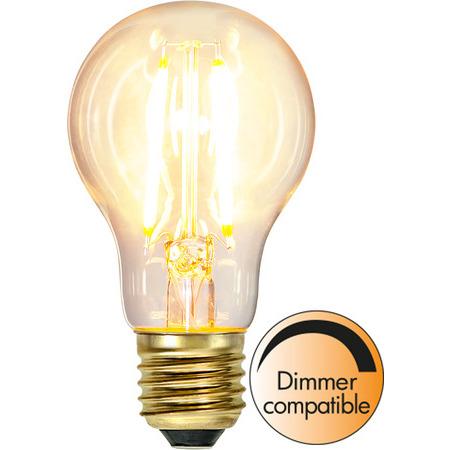 Normal E27 6W Soft Glow Dimbar Led-Lyskilde Star Trading