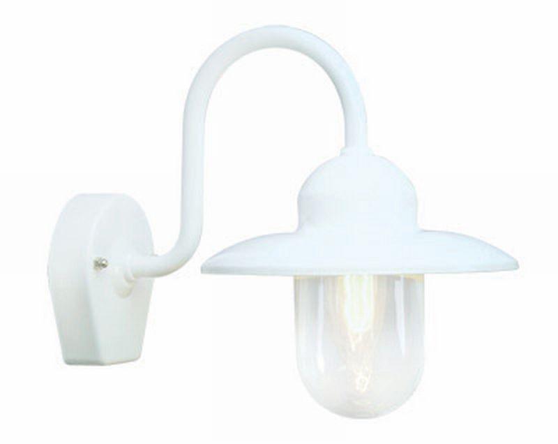 Nisse Hvit/Klar Utevegglampe Westal