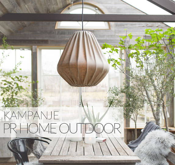 PR Home Outdoor takskjermer før utendørsbelysning