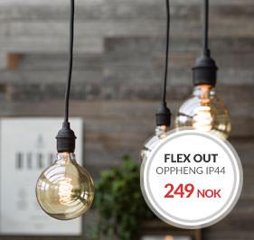 Takoppheng Flex Out IP44 PR Home Utendørs belysning