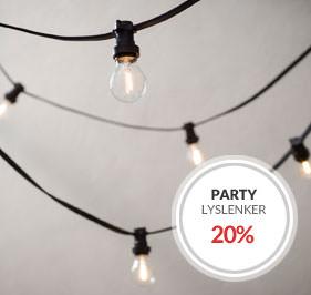 Party Lyslenke Kampanje