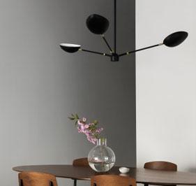 Spoon taklampe designet af Hanna Wessman for Watt&Veke